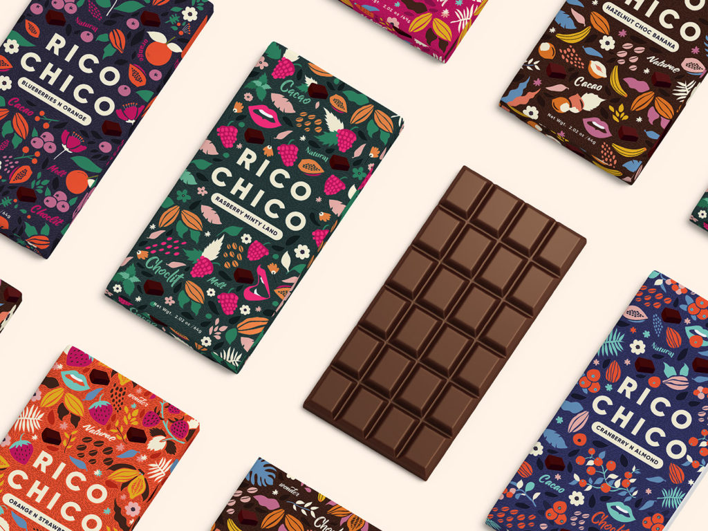 Energic chocolate paper cover
