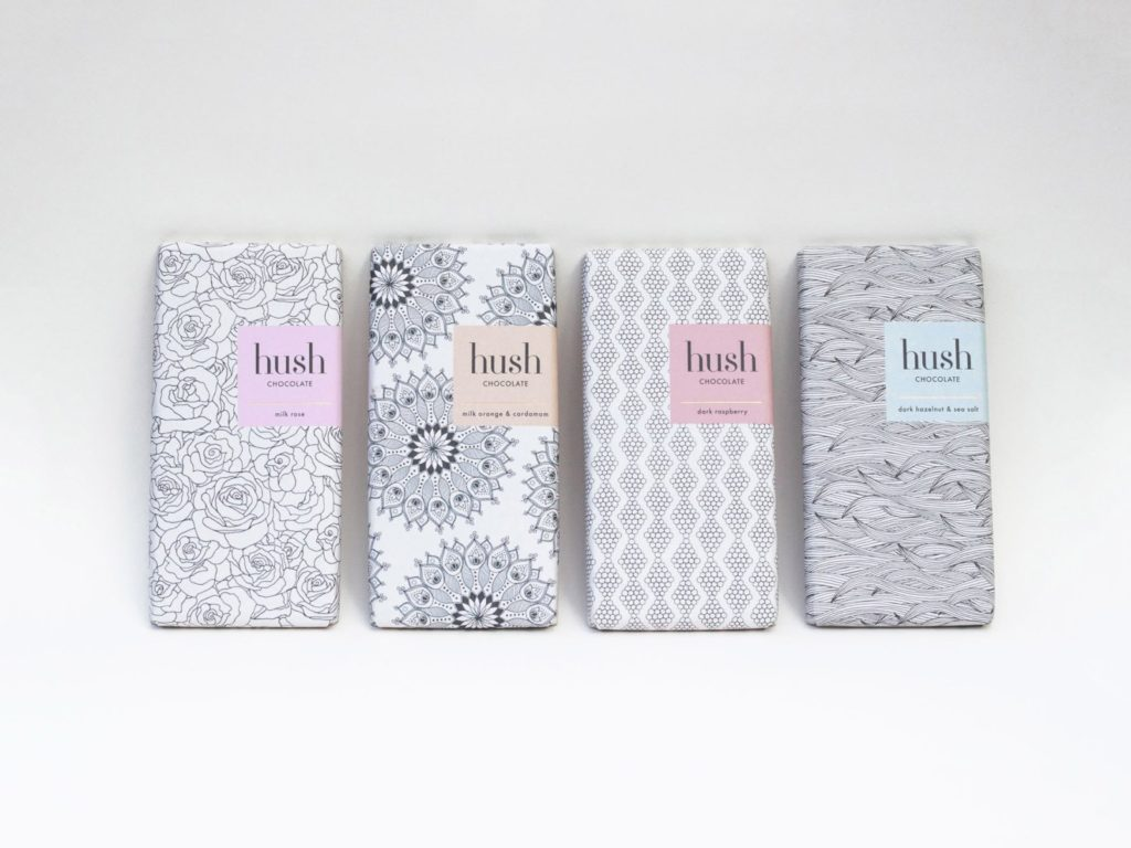 Hush pastel color paper cover